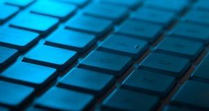 Plan rapproché de clavier avec l'espace de copie Photos libres de droits