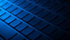 Plan rapproché de clavier avec l'espace de copie Images stock