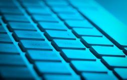 Plan rapproché de clavier avec l'espace de copie Photo libre de droits