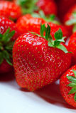 Plan rapproché de fraises Photographie stock libre de droits