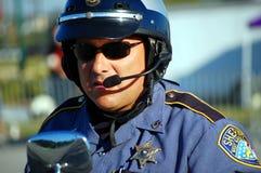 Plan rapproché de shérif Images stock