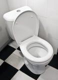 Plan rapproché de toilette Images libres de droits