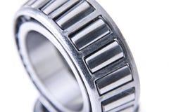 Plan rapproché des roulements en acier Photo stock