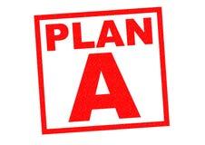 PLAN A Stock Photo