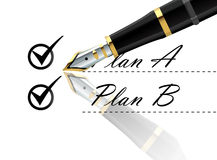 Plan REMAINDER vector Stock Image
