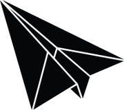 Plan resizable redigerbar vektor för pappersnivåsymbol mycket i svart färg Vektor Illustrationer