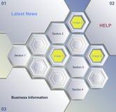 Plan-Schablonendesign des Vektors 3D lizenzfreie abbildung