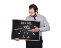 Plan seo Stock Photos