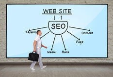 Plan seo Royalty Free Stock Images