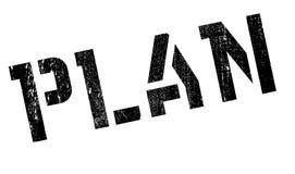 Plan stamp rubber grunge Stock Image