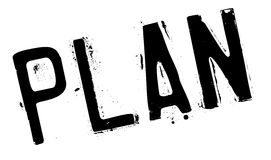 Plan stamp rubber grunge Stock Photography