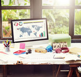 Plan Strategy Vision Global Business Planning Concept Royalty Free Stock Images