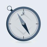 Plan symbol för kompass royaltyfri illustrationer