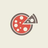Plan symbol för mat stock illustrationer