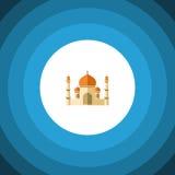 Plan symbol för minaret Religionvektorbeståndsdelen kan användas för minaret, religionen som bygger designbegrepp stock illustrationer