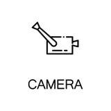 Plan symbol för kamera Fotografering för Bildbyråer