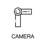 Plan symbol för kamera Royaltyfria Foton