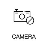 Plan symbol för kamera Arkivbild