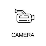 Plan symbol för kamera Royaltyfri Fotografi
