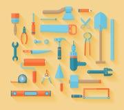 Plan symbolsuppsättning för funktionsdugliga hjälpmedel Arkivbild