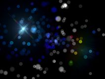 Plan?tes et galaxie, papier peint de la science-fiction Beaut? d'espace lointain Milliards de galaxie ? l'arri?re-plan cosmique d image libre de droits