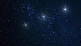 Plan?tes, galaxie, univers, ciel nocturne ?toil?, galaxie de mani?re laiteuse avec des ?toiles et poussi?re de l'espace dans l'un image libre de droits