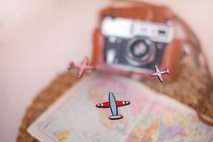 Plan For Travelling. Travel concept. Stock Photography