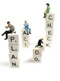 Plan, tun, Check, Tat Lizenzfreie Stockbilder