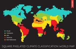 Plan världskarta Infographic för vektor planera världen vektor illustrationer