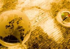 Plan van de wereld Stock Foto's