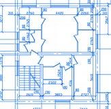 Plan van Huis Royalty-vrije Stock Afbeeldingen