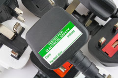 Free Plan View Of Plugs Stock Image - 97561741