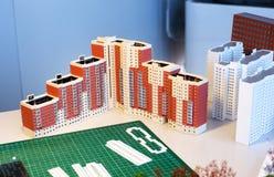 Plan von Wohngebäuden stockfotografie