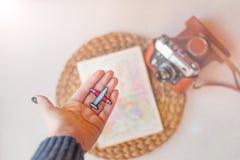 Plan voor het reizen reis concept Stock Foto