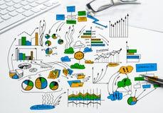 Plan voor voordelige zaken Stock Afbeeldingen