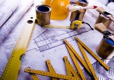 plan w domu Zdjęcie Royalty Free