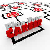 Plan Your Career Targeted Positions Org Chart Targeted Jobs Stock Photos