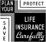 Plan Your Life Insurance Stock Images