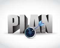 Plan your target business. concept Royalty Free Stock Photo