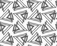 Plana grå färger med trianglar Royaltyfri Fotografi