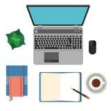 Plana modeller för design och infographics royaltyfri illustrationer