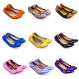 plana skor för 1 balett Royaltyfria Bilder