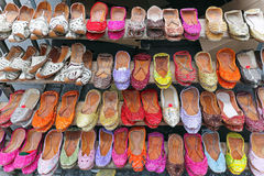 plana skor för balett Arkivfoton