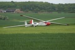 Planadores em um aeródromo imagem de stock