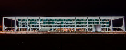 Planalto Palace Brasilia Brazil Stock Photography