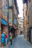 Plancat Street in Albi, France Royalty Free Stock Image