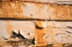 Plance della nave di decomposizione Fotografia Stock Libera da Diritti