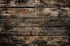 Plance dello scafo di nave Fotografia Stock