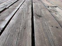 Plance di legno Fotografie Stock