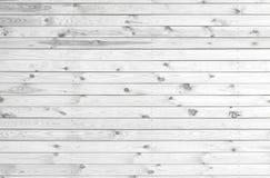 Plance di legno bianche Fotografie Stock Libere da Diritti